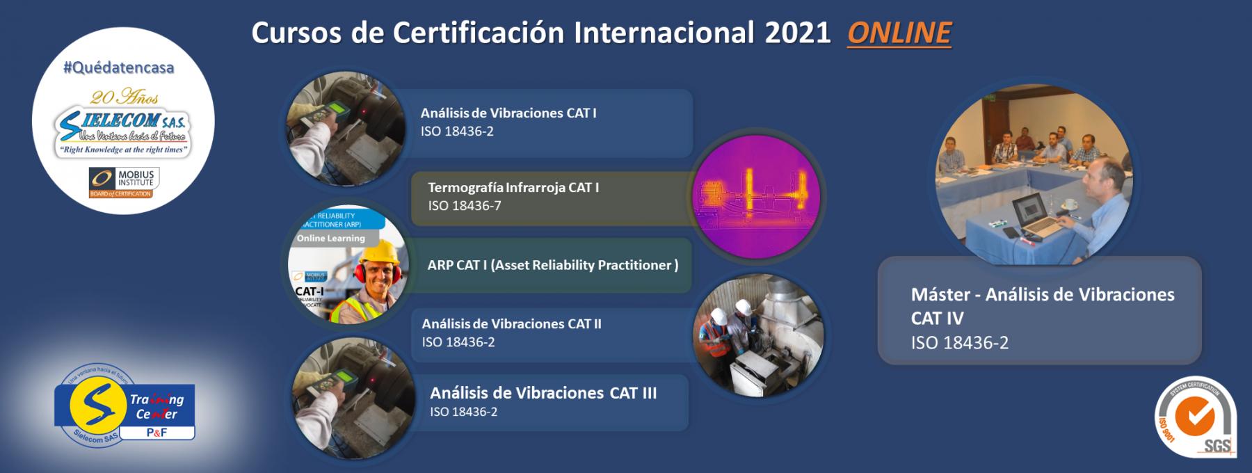 SIELECOM S.A.S | Cursos de certificación 2020